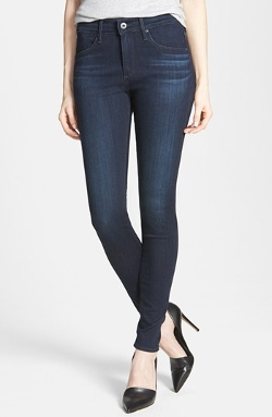 'The Farrah' High Rise Skinny Jeans by AG in The Best of Me