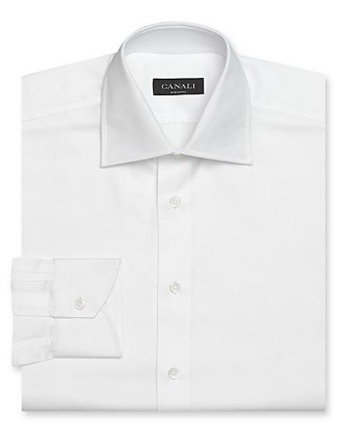 Solid Dress Shirt by Canali in Prisoners
