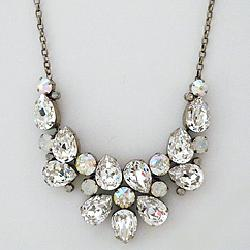 Crystal & Opal Statement Bridal Necklace by Perfect Details in Walk of Shame