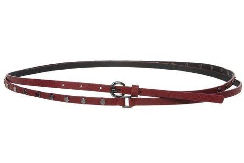 Skinny Studded Double Wrap Belt by Beltiscool in If I Stay