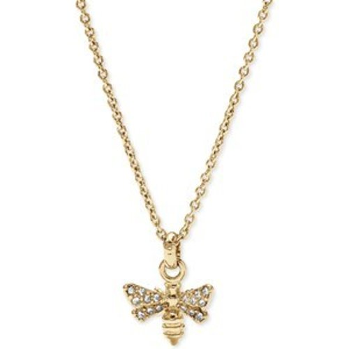 Gold-Tone Crystal Bee Pendant Necklace by Fossil in The Best of Me