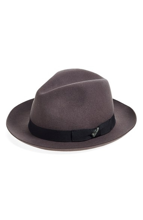 Water Repellent Wool Felt Fedora by Woolrich in Bridge of Spies