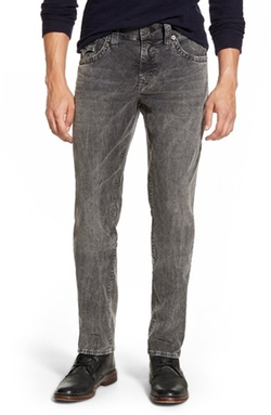 'Geno' Straight Leg Corduroy Pants by True Religion Brand Jeans in American Pie