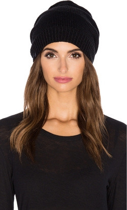 Fleece Lined Pom Pom Beanie by Plush in Atomic Blonde