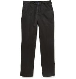 Relaxed-Fit Cotton-Blend Chino Pants by Incotex in Ex Machina