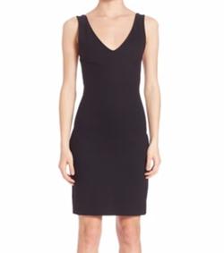 Jennifer V-Neck Dress by L'Agence in Quantico