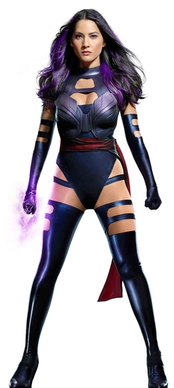 Custom Made Psylocke Costume by Louise Mingenbach (Costume Designer) in X-Men: Apocalypse
