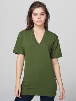 Fine Jersey V-Neck T-Shirt by American Apparel in Daddy's Home