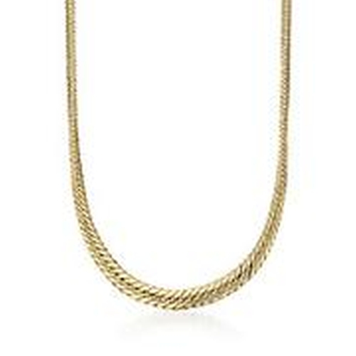 Cuban Link Necklace by Ross & Simons in Ballers - Season 1 Episode 9