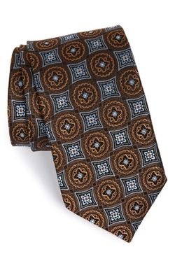 Medallion Silk Tie by J.Z. Richards in Spotlight