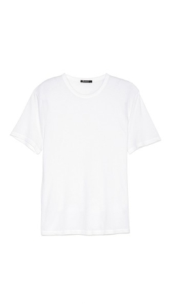 Classic Short Sleeve Tee Shirt by T By Alexander Wang in Southpaw