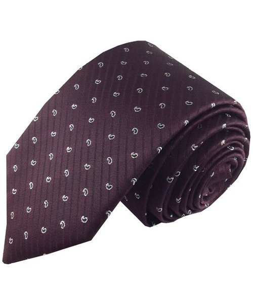 Tinsel Paisley Necktie by Imani Uomo in The Man from U.N.C.L.E.