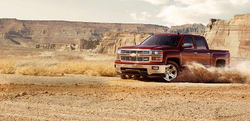 Silverado Truck (Custom Made Trophy Truck bodied as 2003 Chevrolet Silverado) by Chevrolet in Need for Speed