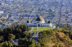 Los Angeles, California by Griffith Park in La La Land