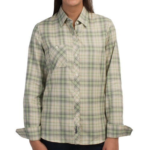 Cotton Button Front Shirt by Barbour in Keanu