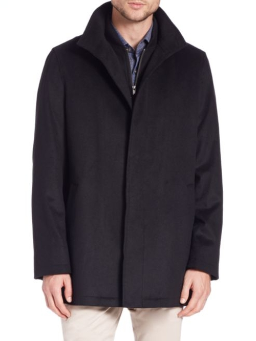 Wool Car Coat by Saks Fifth Avenue Collection in The Last Witch Hunter