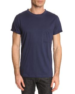 Pocket T Blue T-Shirt by Filippa K in The November Man
