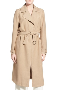 Belted Crepe Trench Coat by Chelsea28 in The Flash