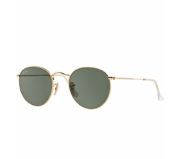 Round Metal  Sunglasses by Ray-ban in Animal Kingdom