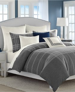 Haverdale Grey Full/Queen Comforter Set by Nautica in Crazy, Stupid, Love.