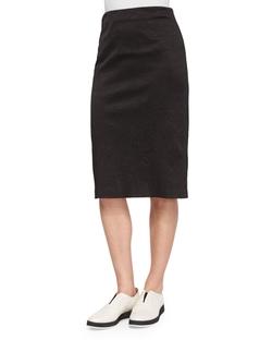 Greta Crinkled Pencil Skirt by Rag & Bone in Arrow