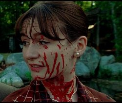 Custom Made Red Poplin Shirt Dress (Emily Mortimer) by Sandy Powell (Costume Designer) in Shutter Island