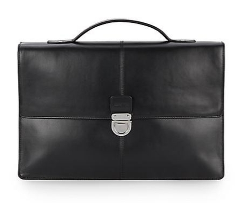 Leather Briefcase by Cole Haan in Billions - Season 1 Episode 1