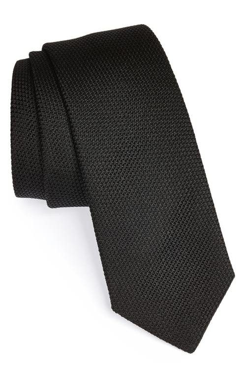 Knit Silk Tie by Yves Saint Laurent in Fight Club