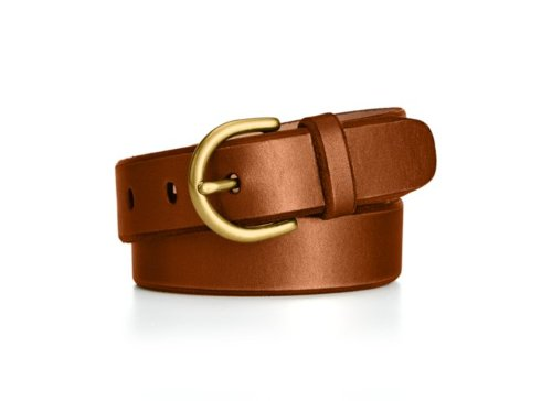 C-Buckle Leather Jean Belt by Fossil in Tomorrowland