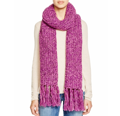 Chunky Knit Scarf by Aqua in Star - Season 1 Preview