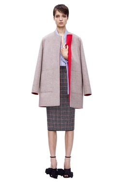 Reversible Coat by Victoria Beckham in Scandal
