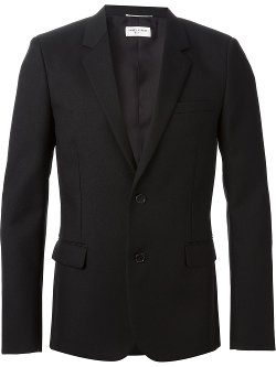 Elbow Patch Blazer by Saint Laurent in The Gambler