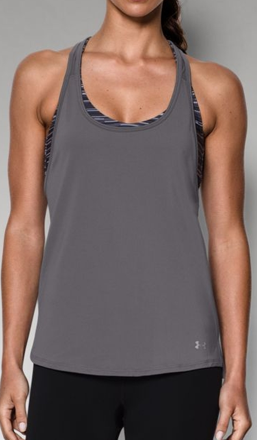HeatGear Armour Loose Tank Top by Under Armour in Quantico - Season 1 Episode 6