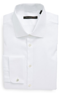 Slim Fit French Cuff Dress Shirt by John Varvatos Star USA in Mr. & Mrs. Smith