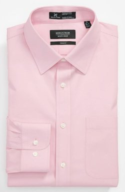 Fit Solid Pinpoint Dress Shirt by Nordstrom in The Best of Me
