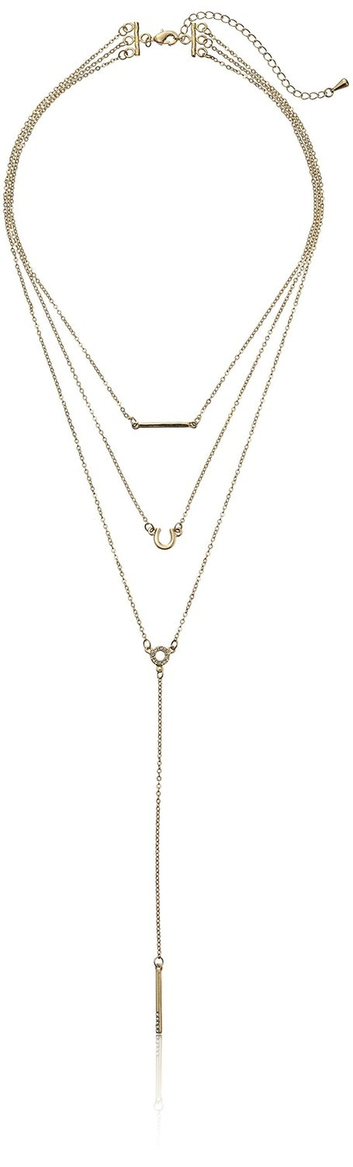 Triple-Layer Charm Necklace by Jules Smith in How To Get Away With Murder - Season 2 Episode 8
