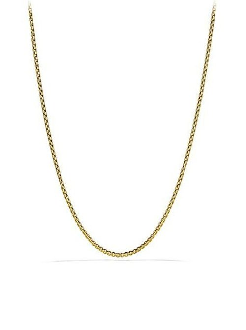 Small Box Chain Necklace by David Yurman in The Man from U.N.C.L.E.