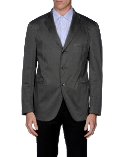 Plain Weave Blazer by Boglioli in Entourage