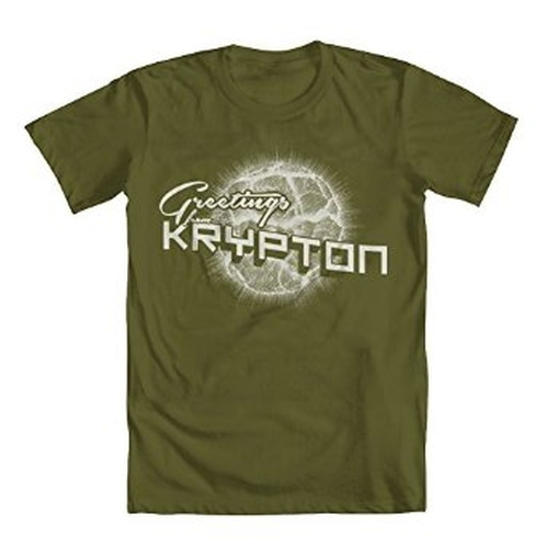 Superman Krypton T-Shirt by Geek Teez in The Big Bang Theory - Season 9 Episode 17