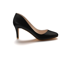 Round Toe Pumps by Shoes of Prey in Friends From College