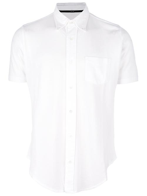 button down short sleeve shirt by ZANONE in Million Dollar Arm