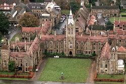 Godalming, Surrey, United Kingdom (depicted as Montana, United States) by Charterhouse School (depicted as St. Vladimir Academy) in Vampire Academy