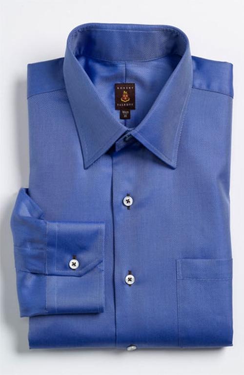 Regular Fit Dress Shirt by Robert Talbott in John Wick