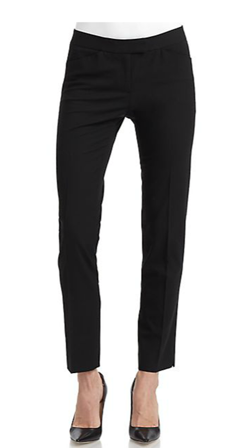 Cropped Skinny Leg Trousers by Lafayette 148 New York in St. Vincent