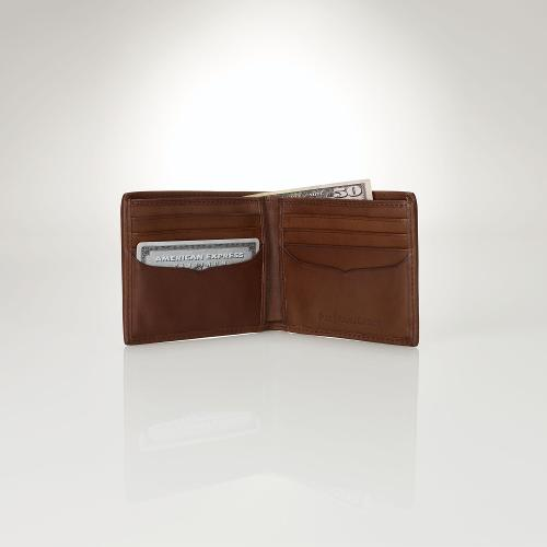 Leather Billfold Wallet by Polo Ralph Lauren in X-Men: Days of Future Past