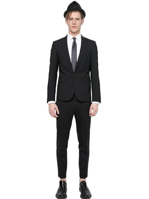Tokyo Stretch Wool Suit by Dsquared2 in The Man from U.N.C.L.E.