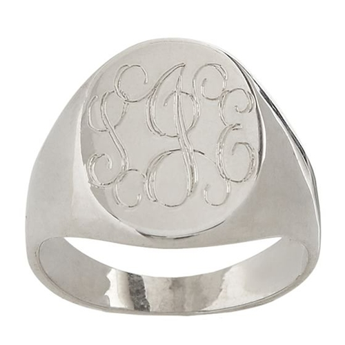 Classic Oval Signet Ring by Mark & Graham in Wet Hot American Summer