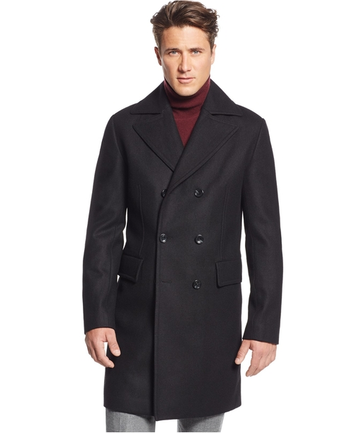 Eden Classic-Fit Overcoat by Michael Michael Kors in Jessica Jones