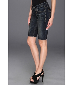 Bridgette Bermuda Shorts by Mek Denim in Couple's Retreat