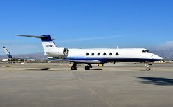 G150 Plane by Gulfstream in Taken 3